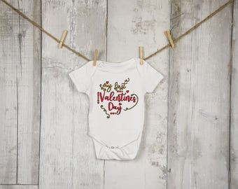 My First Valentine's Day Iron On Decal| Onesie Iron On Decals| Diy Iron On| NEXT DAY SHIPPING!!