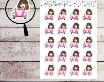 Car Character Planner Stickers for all Planners
