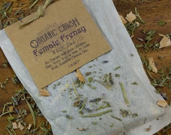 Female Frenzy BATH TEA | PMS Relief | Cramp Relief | Bath Tea Bags | Herbal Bath | Natural Relief for Females