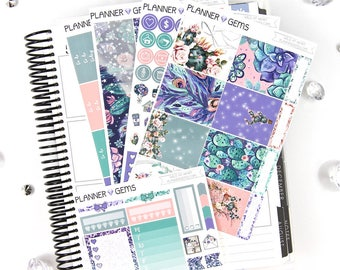 Wild at Heart Essential Weekly Planner Kit | 150+ Stickers | Planner Stickers | For Erin Condren LifePlanner