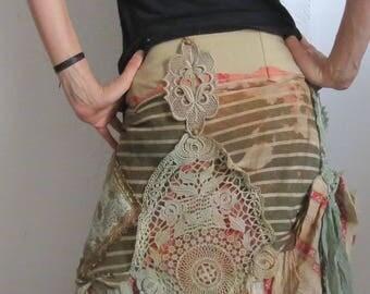 skirt + vest for fairies S- M
