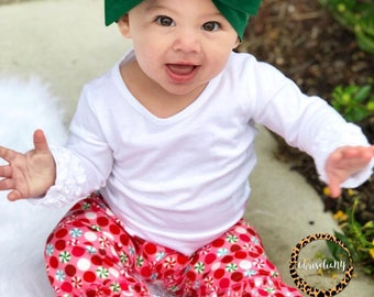 FOREST GREEN Headwrap, Baby Head Wrap,  Fabric Head Wrap, Newborn Head Wraps, Toddler Headwraps, green baby headband, Turban Headwraps