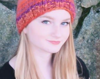 Hand Knit Winter Hat