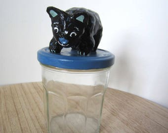 Apothecary jar candy Heven Panther