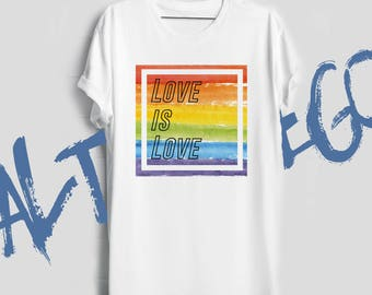 Gay shirt / Gay man gift / Gay pride shirt / Gay pride tshirt / Gay marriage gift / Lgbt / Love is love shirt