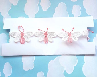 Butterfly Choker Necklace Kawaii Jewelry Lolita Adult Baby Doll Cute Pastel Pink White Fairy Kei Ddlg Abdl Gold Silver Cgl Kitten Collar