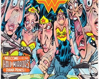 Wonder Woman 315, comic book. Female Superhero. Amazon, Tiara, Lasso, Bronze Age, Vintage Paradise Island. 1984 DC Comics in NM (9.4)
