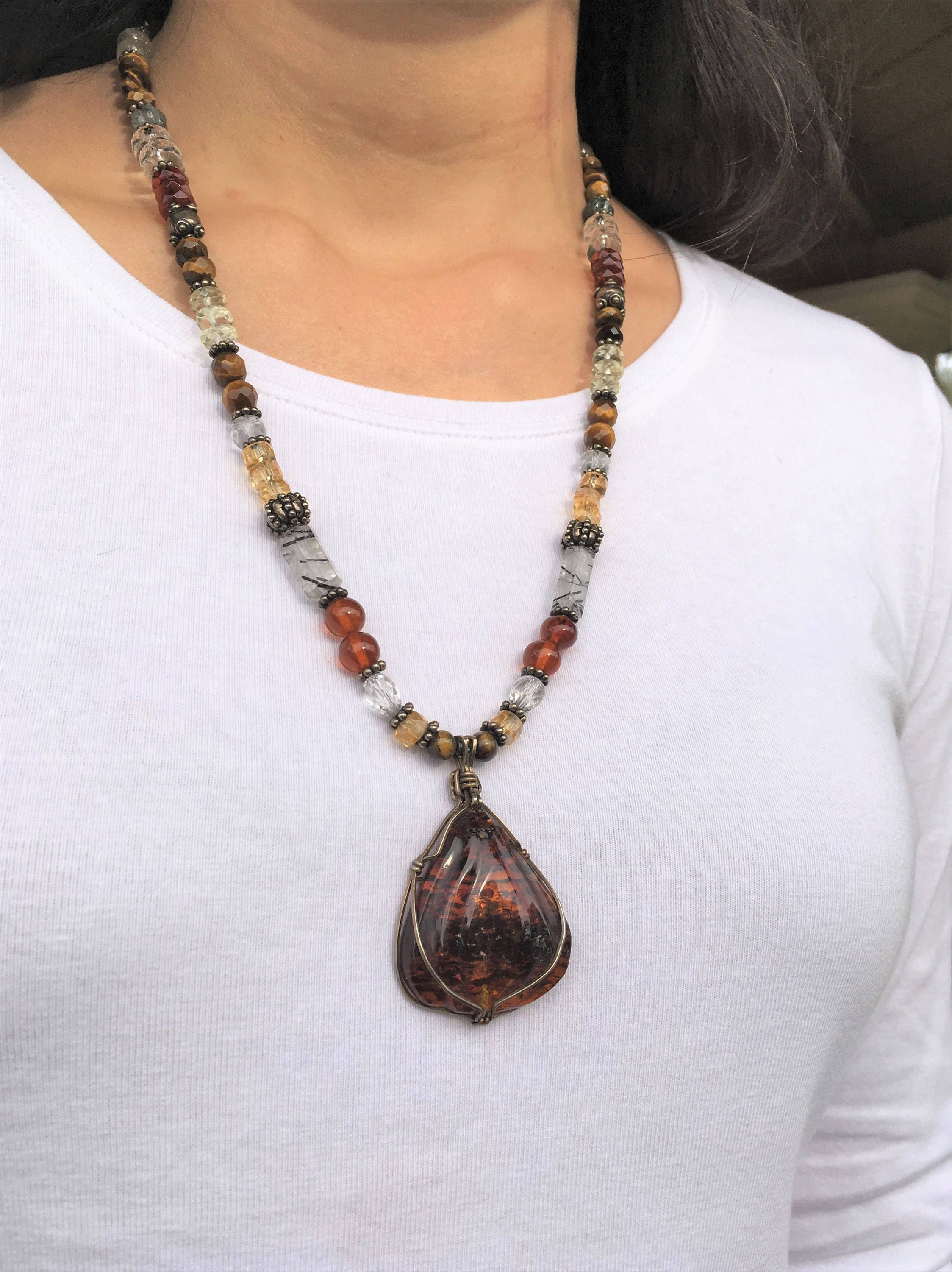 Personal power sedona large amber pendant chakra balancing personal power sedona large amber pendant chakra balancing self confidence reiki charged healing sacral chakra wiccan yoga mozeypictures Image collections