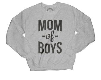 Mother of boys sweatshirt blessed sweatshirt mom gift mom sweatshirt new mom gift wife gift thankful sweatshirt mother gift   APV31