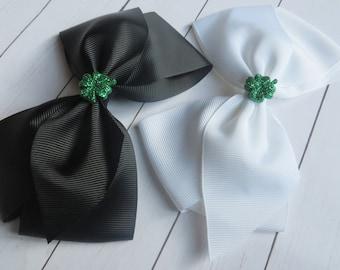 St. Patrick's Day Hair Bows | St. Patty's Hair Bows | St Pat's Hairbows | Hairbow | St. Patrick's Day Headbands | St Pat's Headband | Clip