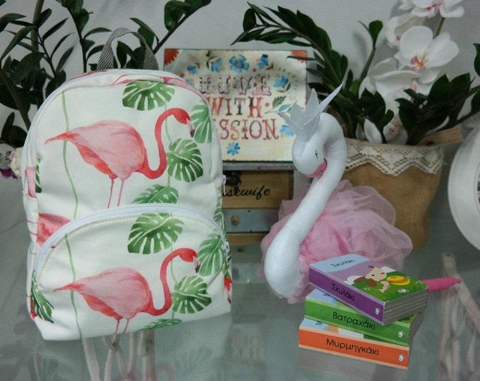 SALES!!Baby School Flamingo Backpack