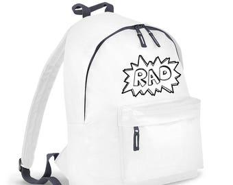 Rad kids backpack - Back To School SALE!