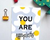 Eggsquisite Anniversary/Birthday/Valentines Day Card