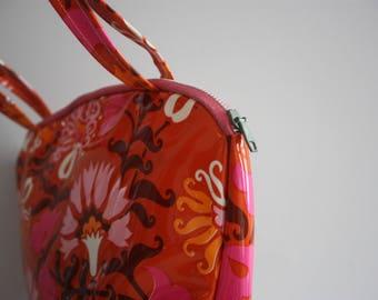Vtg 60's Groovy Mod Wash Bag
