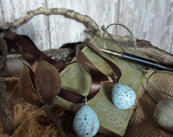 Speckled Egg Pendant