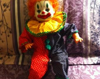 Clown Doll - Vintage 1980's