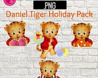 Daniel Tiger and Friends Cutting File/Clipart Daniel