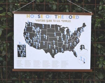 The House of the Lord Sticker Map