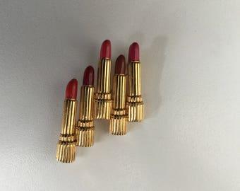 Estee Lauder brooch lipstick