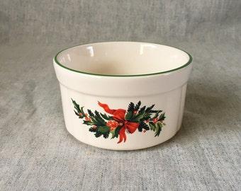 Vintage Pfaltzgraff Christmas Heritage Dip Bowl
