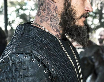Ragnar Vikings Head Tattoos Instant Download. Print it yourself at home, no shipping required