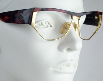Via Condotti CS19  / Vintage 80s  Eyeglasses / N O S  / made in Italy || art. A