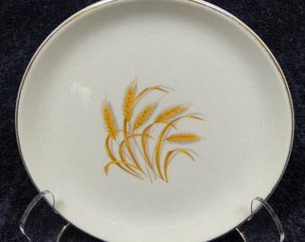 Homer Laughlin Golden Wheat Bread Plate EXCELLENT