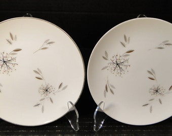 "TWO Noritake Helene Bread Plates 5602 6 1/4"" (Set of 2) EXCELLENT!"