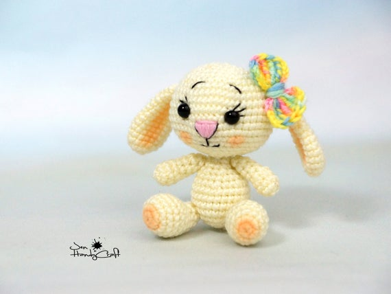 Plush bunny rabbit girlfriend gift for girl easter bunny like this item negle Gallery