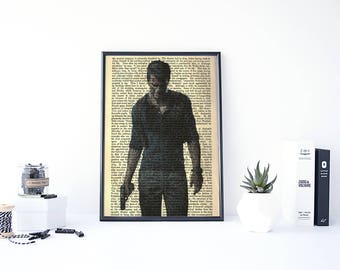 Uncharted Poster, Uncharted Art, Nathan Drake Uncharted, PS4 Games, Uncharted Drake, Playstation 4 Games, Uncharted Nathan Drake