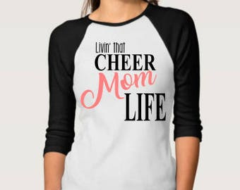 Cheer Mom Life; Cheer Mom SVG; Cricut Cut File; Silhouette Cut File; DXF; Cameo Cut File; SVG; Vector Image; Vector; Sports svg;