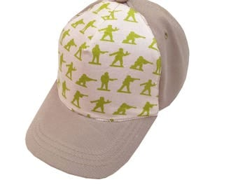 Army Men Ball Cap/Toddler Size