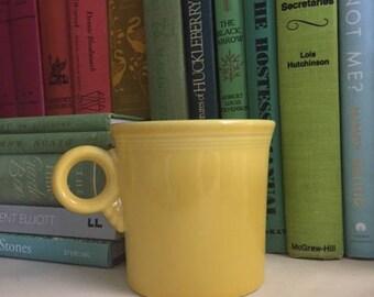 SunFlower Yellow Fiesta Ware Mug