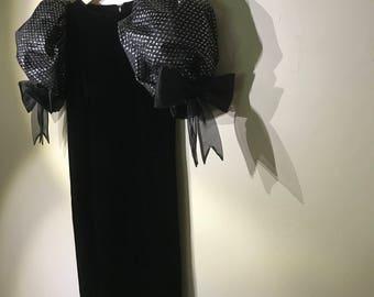 the velveteen dress