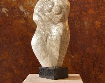 "stone sculpture ""Mother"""