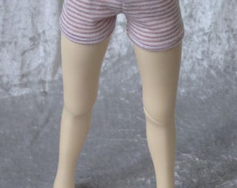 Jersey trousers for BJD doll in MSD, 1/4 size