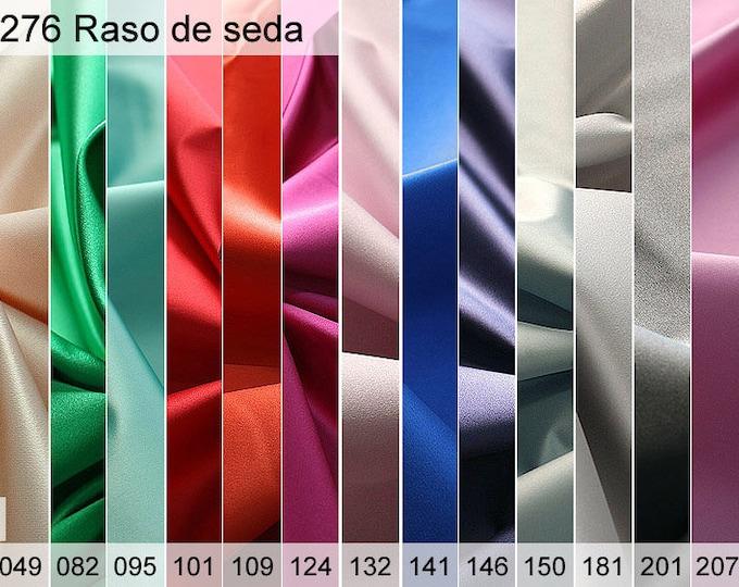 276 satin silk sample of 6 x 10 CM