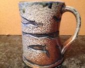 8oz Mug Wood/Soda fired stoneware