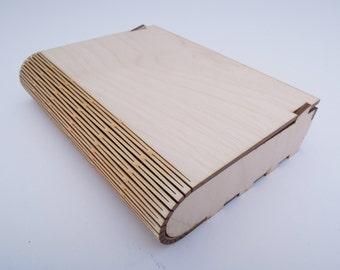 Wooden Photo Box  - Laser Cut