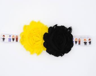 Infant Headband - Harry Potter - Hufflepluff