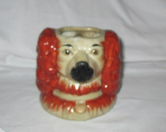 Old Cocker Spaniel Double Sided Planter