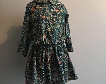 Dress liberty Meadow green