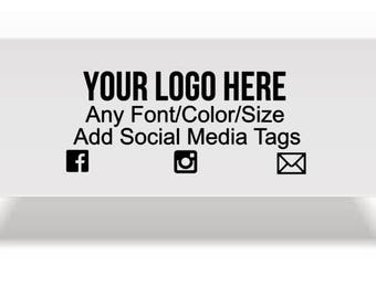 Custom Heat Tranfer Decal~ Any logo or Design~ Use on Tablecloths,Shirts,Pants or any other fabric~ You choose size and color~