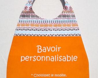 Fully customizable bib - handmade-