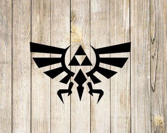 Triforce Decal, Triforce Icon, Triforce Symbol, Legend of Zelda Icon, Legend of Zelda Triforce, Zelda Triforce, Zelda Gift, Arcade Game
