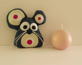 """DECORATIVE little mouse """"Blankie"""" for child"""