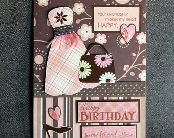 Friend Birthday Card #150