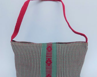 Handwoven tote Bag, Handmade Tote, Santo Tomas Jalieza Bag Mexican Bag, Oaxaca Bag Oaxaca Tote, Cotton Bag Cotton Tote,  Santo Tomas Jalieza