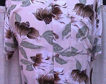 Medium Vintage Hawaiian Shirt