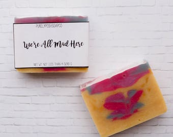 Citrus Soap: Bar Soap, Soap, Cold Process Soap, Vegan Soap, All Natural Soap, Shea Butter Soap, Palm Free Soap